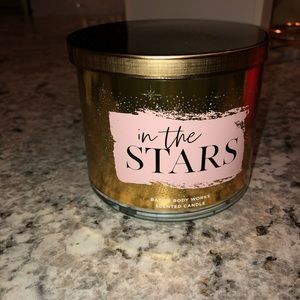 "Bath & Body Works ""In The Stars"" 3 Wick Candle NEW"